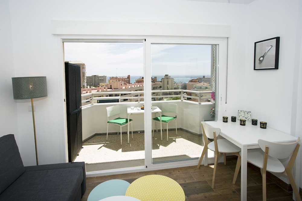 Studio, Terrace, City View - Living Area