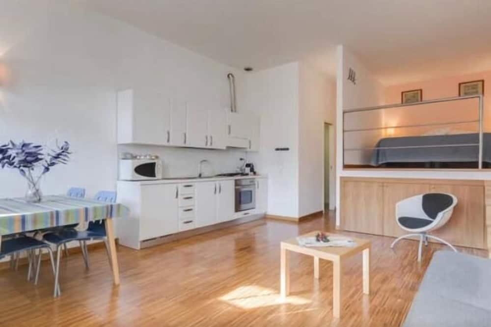 Apartment, 1 Bedroom (Loftlibetta 1) - Living Room