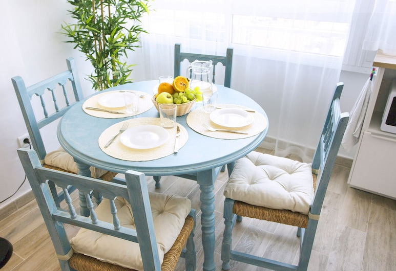 Blue Toscana Pool & Center Apartment, Torremolinos, Appartement, 1 slaapkamer, Woonruimte
