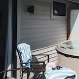 Habitación Deluxe, 1 cama King size, bañera de hidromasaje, vista a la montaña - Tina de hidromasaje privada