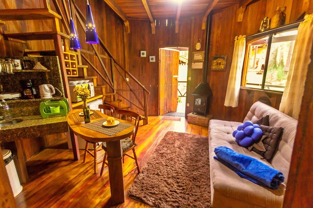 Chalé Superior  (Pipa Superior Tannat) - Sala de estar