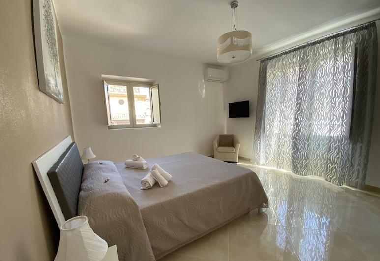 Apartment Rua Formaggi, Palermo, Deluxe Tek Büyük Yataklı Oda, Ortak Banyo, Oda