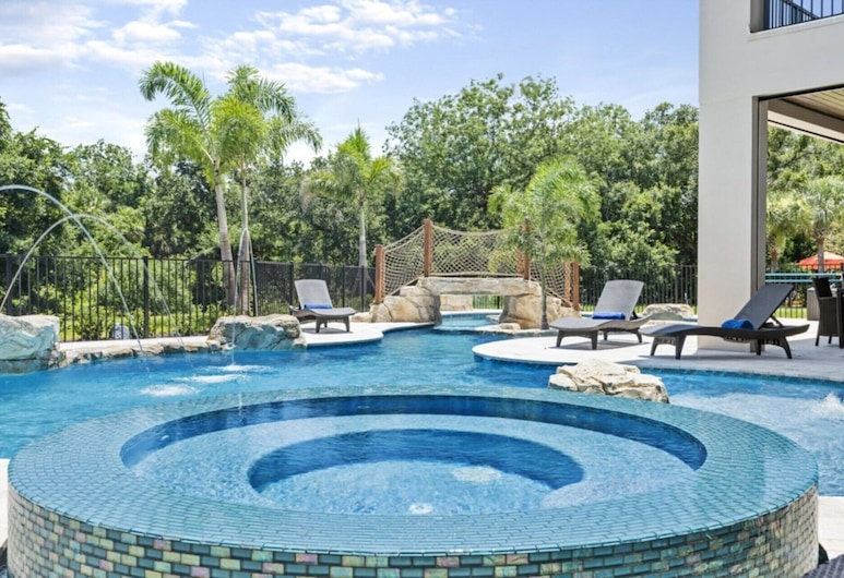 5 Star Private Mansion, Reunion Resort and Spa, Orlando Mansion 2908, Kissimmee