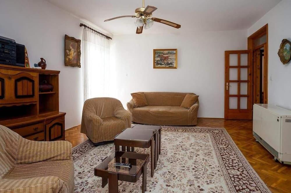 อพาร์ทเมนท์, 2 ห้องนอน, ระเบียง - ห้องนั่งเล่น