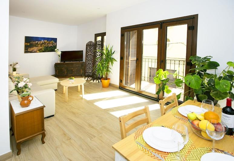 Fresh Relax & Sun Historic Center, Málaga, Appartement, 1 chambre, balcon, Coin séjour