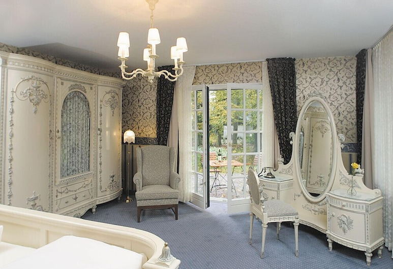 Hotel Buchenhof, Worpswede, Chambre Double, balcon, Chambre