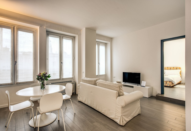 Luxury Apartments Suite Santa Sofia, Milano, Leilighet – executive, 1 soverom, Stue