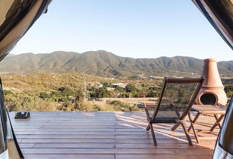 Casa Misiones Glamping, Valle de Guadalupe, Tienda de campaña/carpa de luna de miel, Terraza o patio