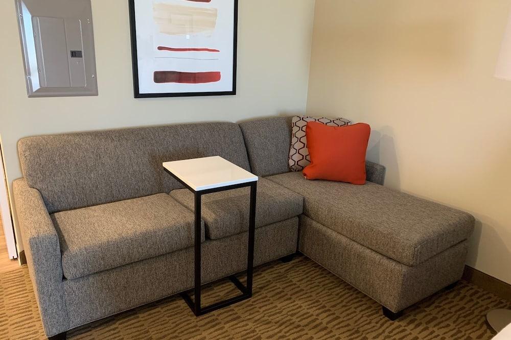 Studijos tipo numeris, 1 didelė dvigulė lova, Nerūkantiesiems - Svetainės zona