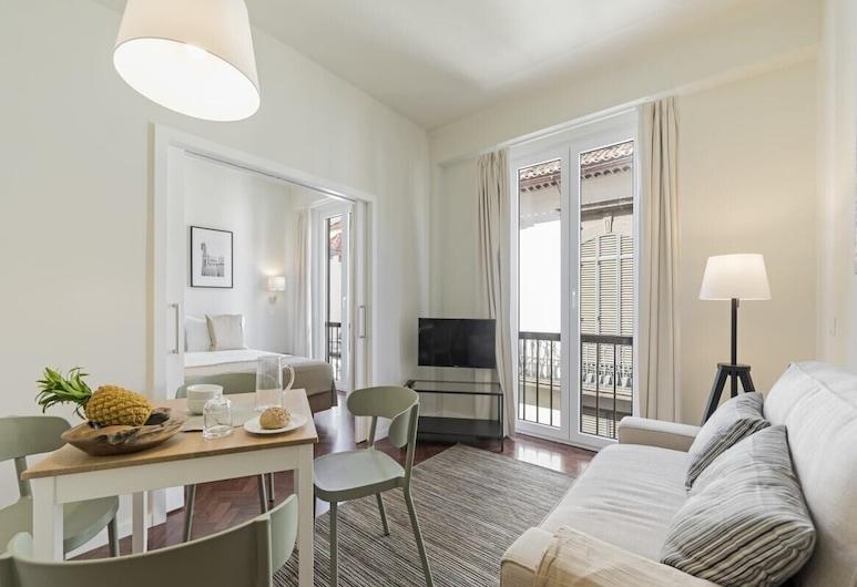 豐沙爾市中心保考怡斯公寓 2B 飯店 - 市中心, 芳夏爾, 公寓 (1 Bedroom), 客廳