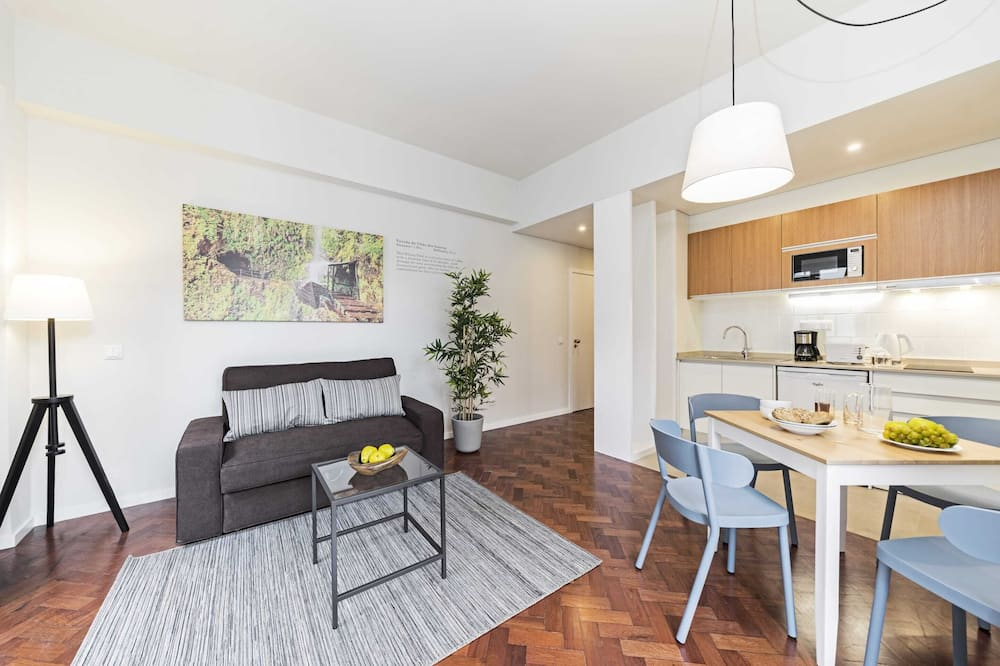 Dzīvokļnumurs (1 Bedroom) - Dzīvojamā istaba