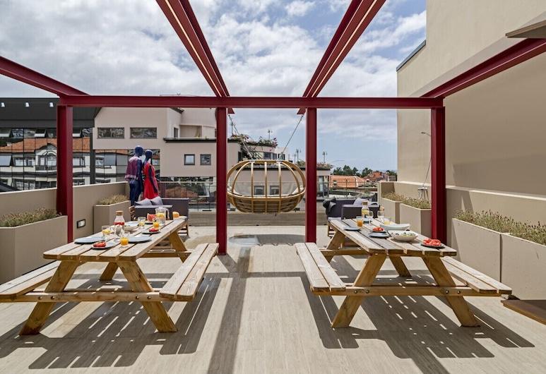 窗簾設計公寓 2A 暗影飯店, 芳夏爾, 露台