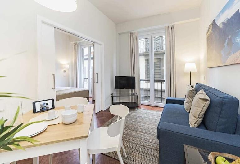 豐沙爾市中心北公寓 1B 號飯店 - 市中心, 芳夏爾, 公寓 (1 Bedroom), 客廳