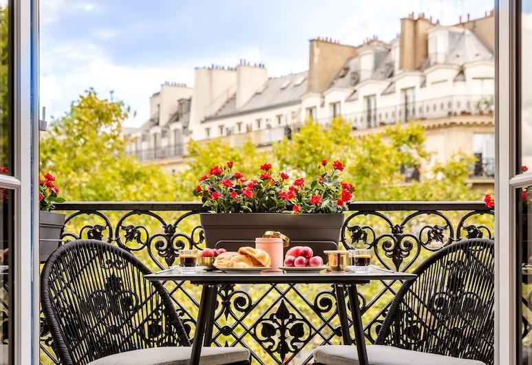 Sunshine 2 bedroom - Luxury at Louvre , Paris, Lägenhet, Balkong