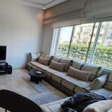 Komforta dzīvokļnumurs, divas guļamistabas - Dzīvojamā zona