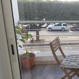 Komforta dzīvokļnumurs, divas guļamistabas - Balkons