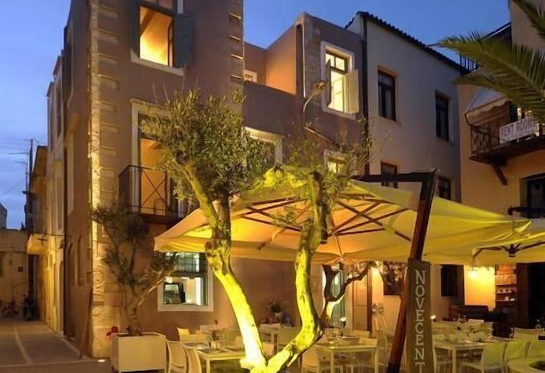 Novecento Studios, Rethymno, חזית המלון - ערב/לילה