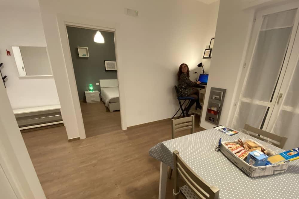 舒適單棟房屋, 1 間臥室, 露台 (Casa Blu - 3PRS) - 客廳