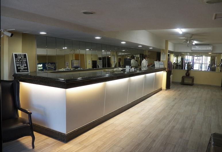 Hotel Roma, Matamoros, Lobby