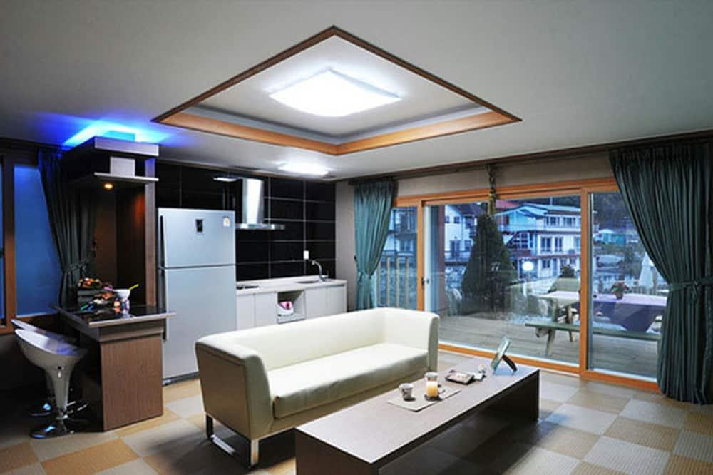 Zimmer (30 pyeong) - Wohnbereich