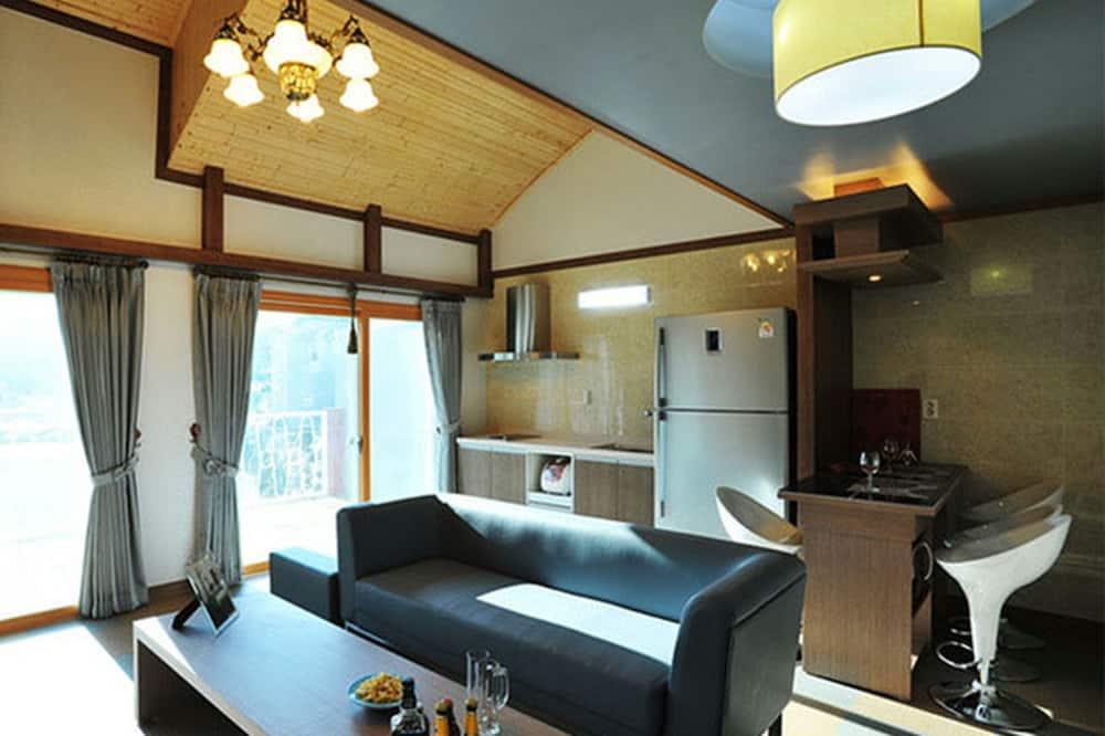 Zimmer (38 pyeong) - Wohnbereich