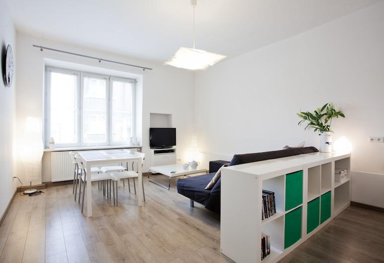 KrakowRentals - Snow White Apartment, Cracovia, Departamento, Habitación