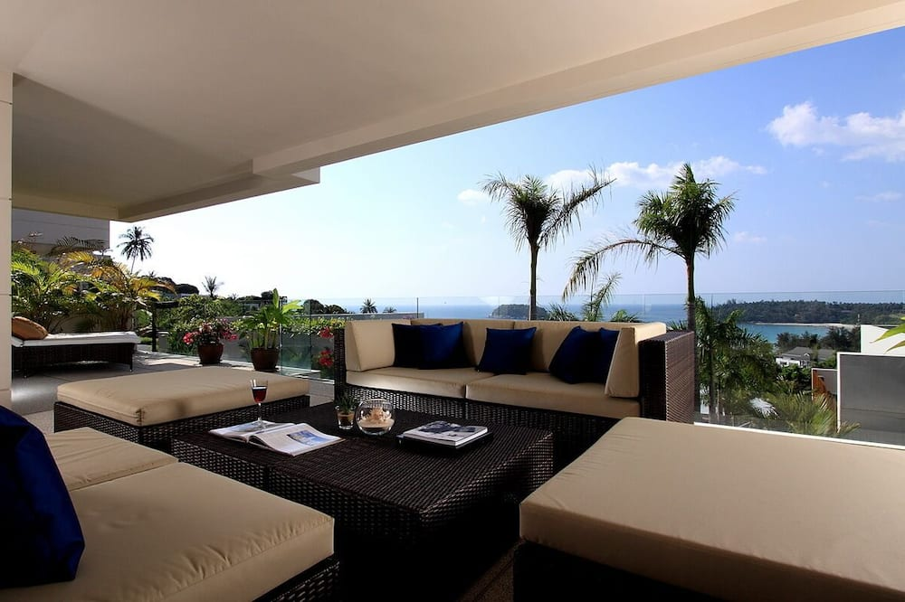 The Heights Luxury Ocean View B22 - Balkon