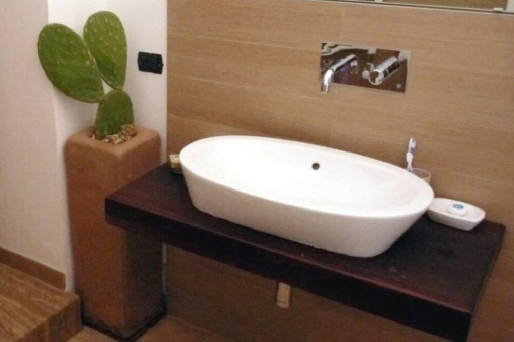 อพาร์ทเมนท์, 2 ห้องนอน (Via dei trulli - Coccinella) - ห้องน้ำ