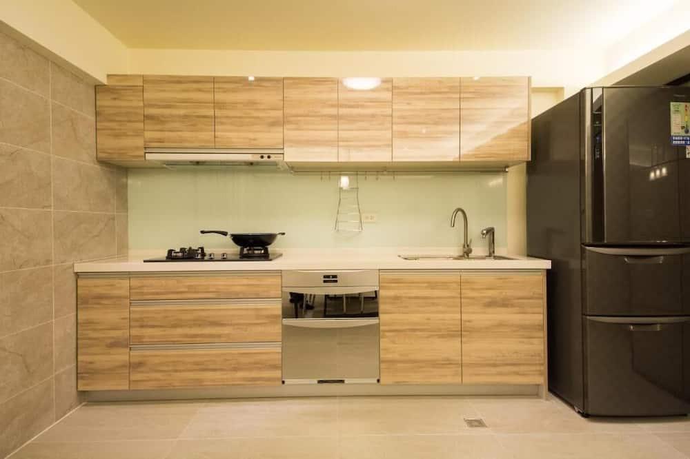 Domek typu Comfort - Společná kuchyně