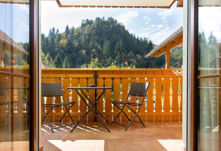 Penzion Kaps, Bled, Habitación triple, balcón, Balcón