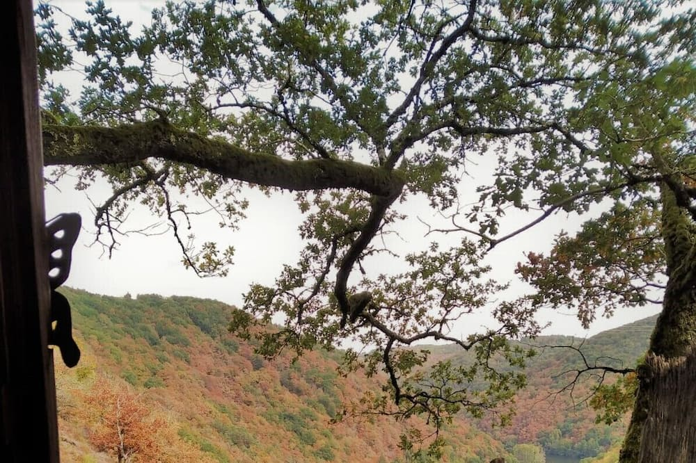 Chatka (Épicéa Souhait) - Výhľad z balkóna