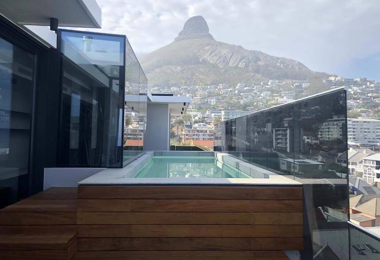 Latitude Aparthotel, Kapské mesto, Bazén na streche