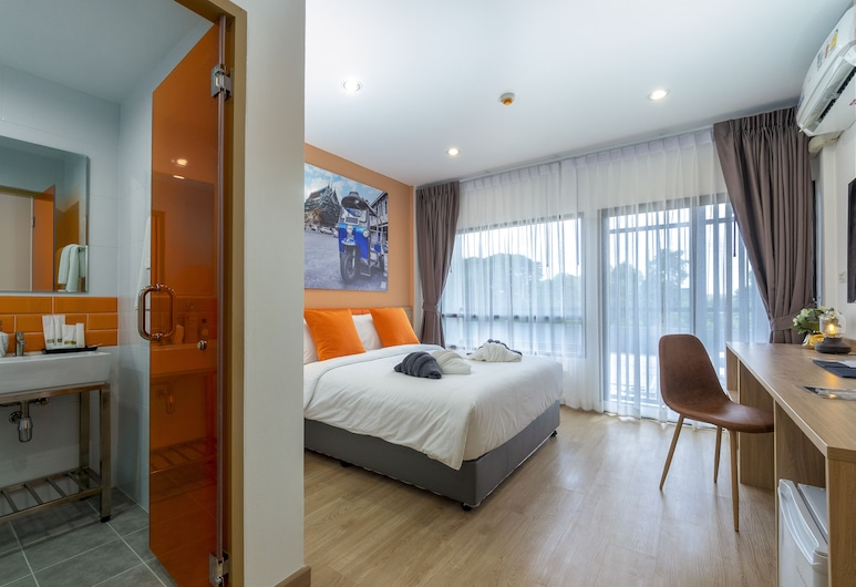 7 Days Premium Don Mueang, Bangkok, Deluxe Room, Guest Room