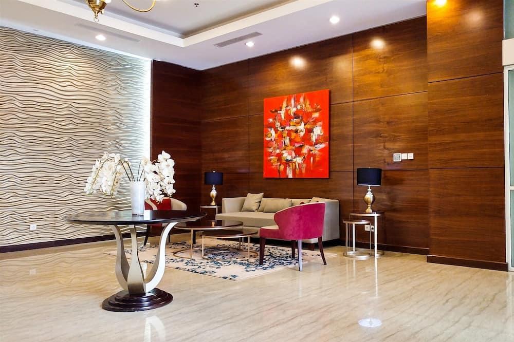 Garden View Studio at Nifarro Park Apartment