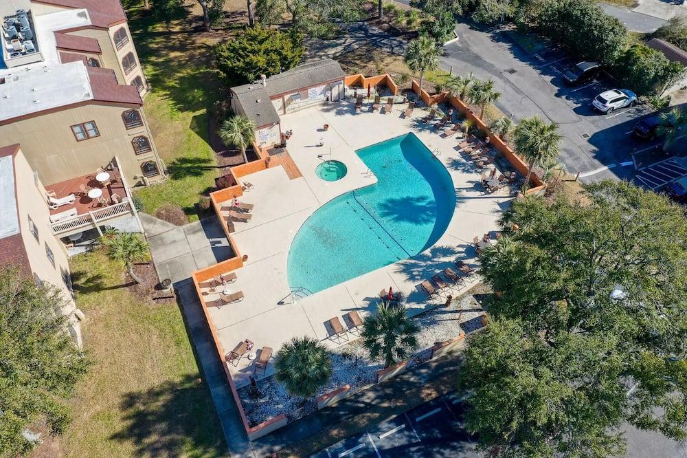 شقة - غرفة نوم واحدة - حمام سباحة
