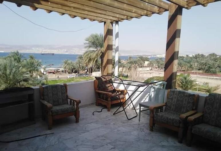 Al Amer Hotel Apartments, Aqaba, Terrace/Patio