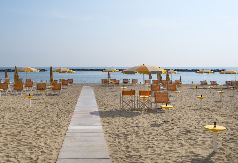 Hotel Riviera, Bellaria-Igea Marina, Strand