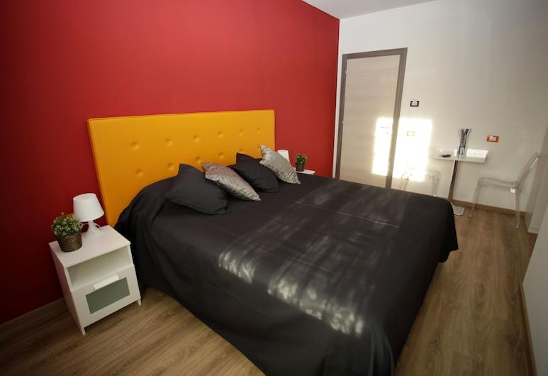 B&B Insula San Pietro, Roma, Camera con letto matrimoniale o 2 letti singoli (Orange), Camera