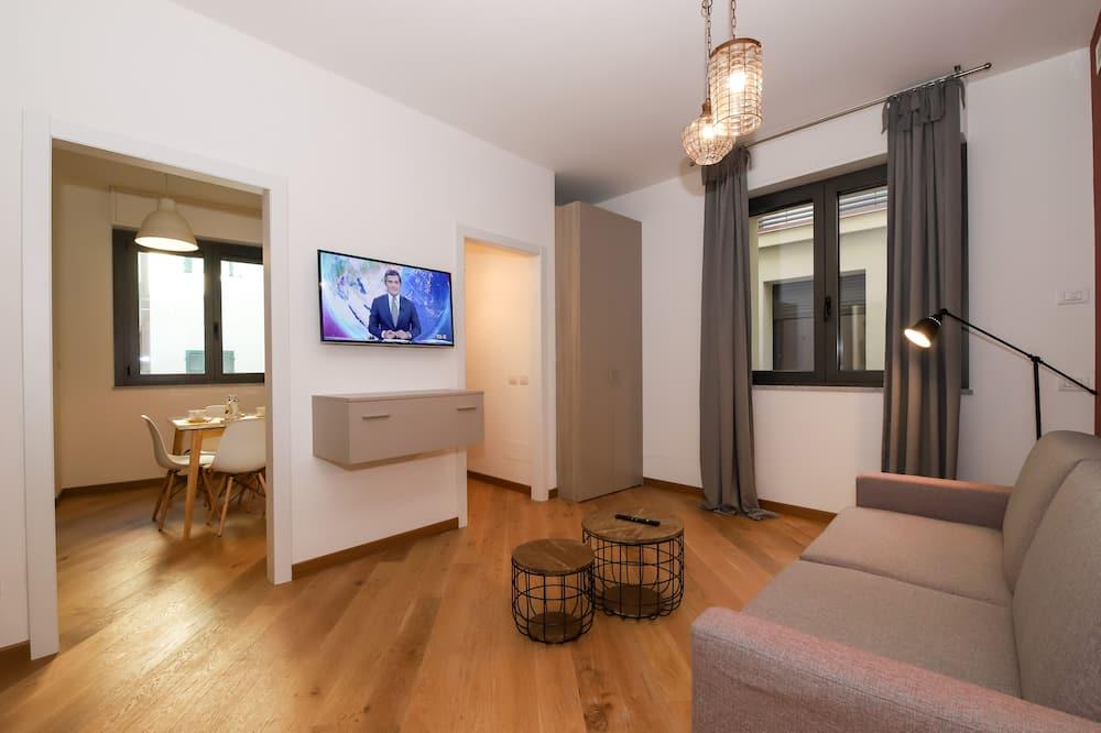 ดีลักซ์อพาร์ทเมนท์, 1 ห้องนอน - ห้องนั่งเล่น