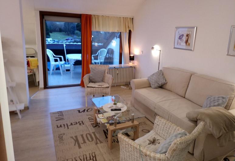 Ferienwohnung Talblick 2b, Bad Bergzabern, Apartament, balkon, Powierzchnia mieszkalna
