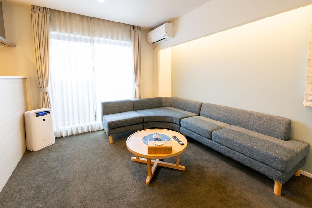 Izba typu Deluxe, nefajčiarska izba (D) - Obývačka