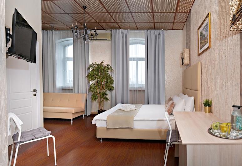 Apelsin Pushkinskaya, מוסקבה, חדר סופריור, חדר אורחים