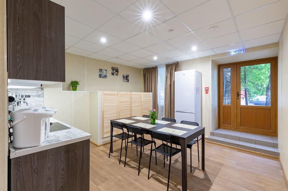 Standard-Einzelzimmer - Gemeinschaftsküche