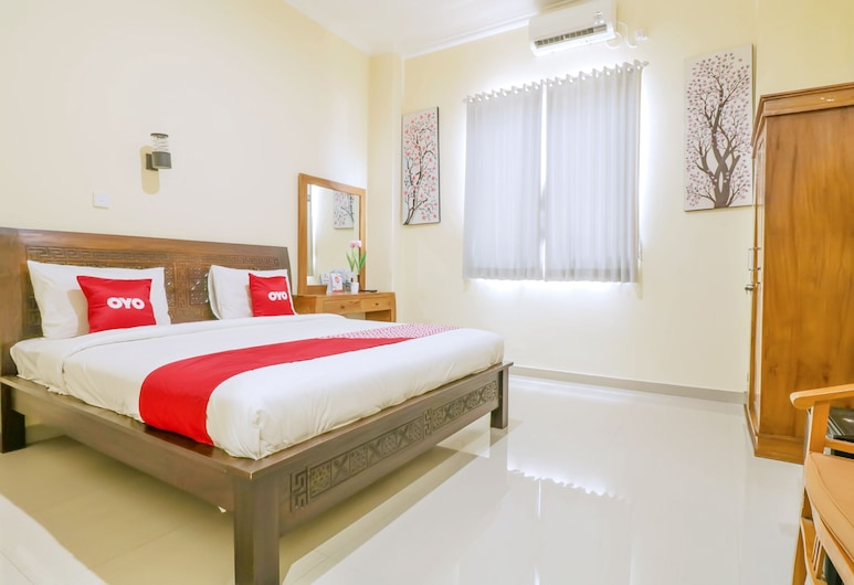 OYO 1684 Marina Suite Apartment Bali, Denpasar, Deluxe Double Room, Guest Room