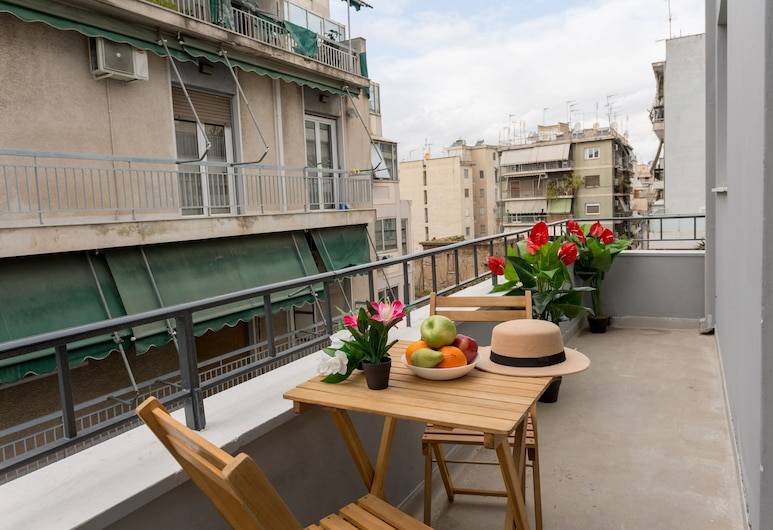 Homely Apartments by Athens Stay, Athens, Apartment, 1 Bedroom, Balcony, Balkoni