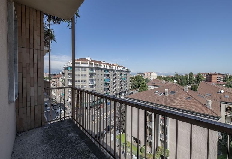 Vintage Apartment Santa Rita, Turyn, Apartament, 1 sypialnia, Balkon