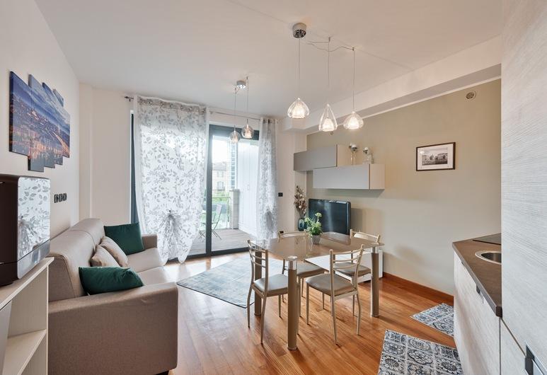 Residenza La Salle Exclusive Flat, Torino, Appartamento, 1 camera da letto, Area soggiorno