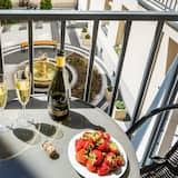 Obiteljski apartman, 1 spavaća soba, pogled na dvorište (Topolowa 8 st.) - Balkon