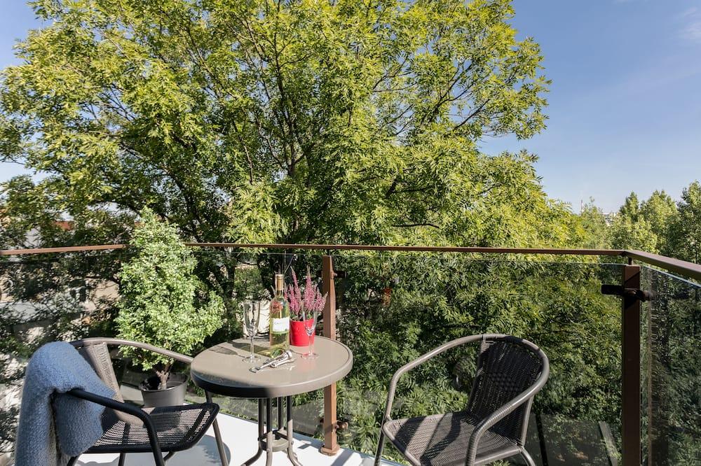 Luksuzni apartman, 1 spavaća soba, balkon (Rakowicka 15A st.) - Balkon