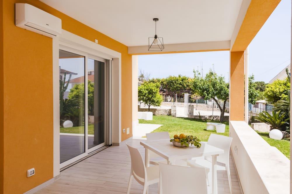 Deluxe appartement, 2 slaapkamers, terras, op benedenverdieping - Veranda
